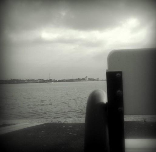 Grisaille sur l'eau (27 janvier 2012)