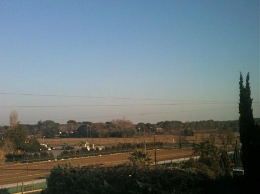 Le retour du ciel bleu, Castelnau-Le-Lez (16 janvier 2012)