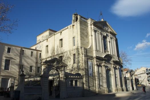 Place Albert 1er, Montpellier (7 janvier 2012)