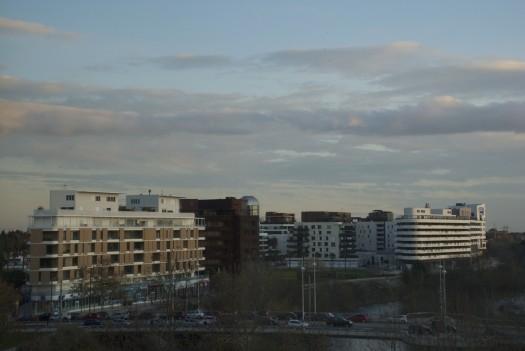 Port Marianne / Pont Jean Zuccarelli, Montpellier (2 janvier 2012)