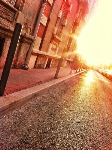 Tu le sens le soleil, dans les rues de Montpellier ? (23 janvier 2012)