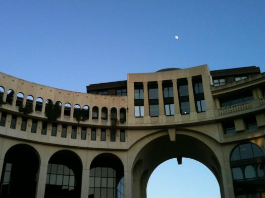 Hôtel d'Agglomération, Montpellier (3 février 2012)