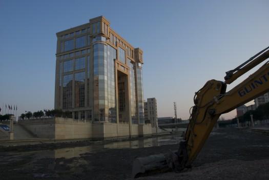 Le Lez en chantier, Montpellier (12 février 2012)