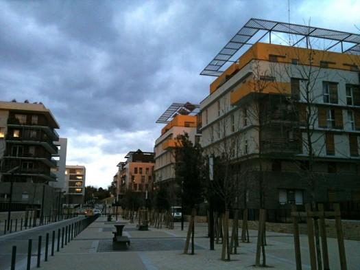Parc Marianne, Montpellier (6 mars 2012)