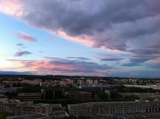 Antigone, vu d'en haut. Montpellier (19 avril 2012)