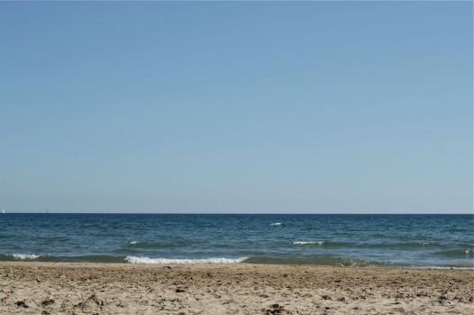 La mer, Carnon (1er avril 2012)
