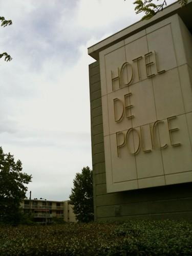 Hotel de Police, Montpellier (28 avril 2012)