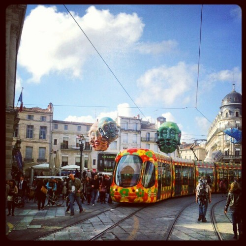 Inauguration du Tramway, Montpellier (6 avril 2012)