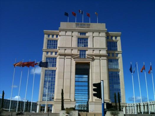 Hôtel de Région, Montpellier (20 avril 2012)