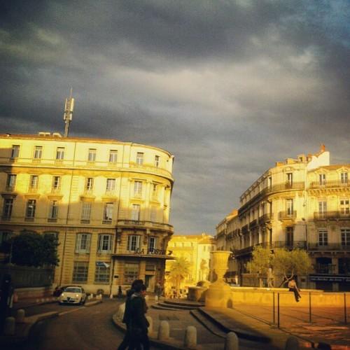 Place des Martyrs de la Résistance, Montpellier (13 avril 2012)