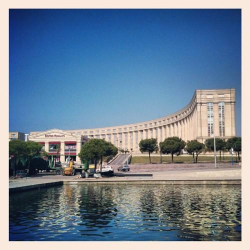 L'Esplanade de l'Europe, Montpellier (30 mai 2012)