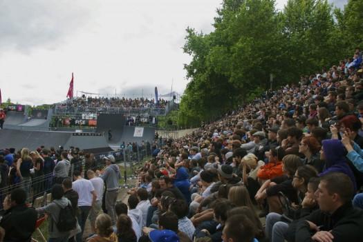 Finale de BMX lors du FISE, Montpellier (20 mai 2012)