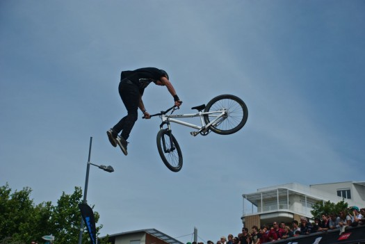 Mountain Bike lors du FISE, Montpellier (17 mai 2012)