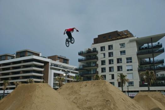 La piste de Dirt lors du FISE, Montpellier (17 mai 2012)