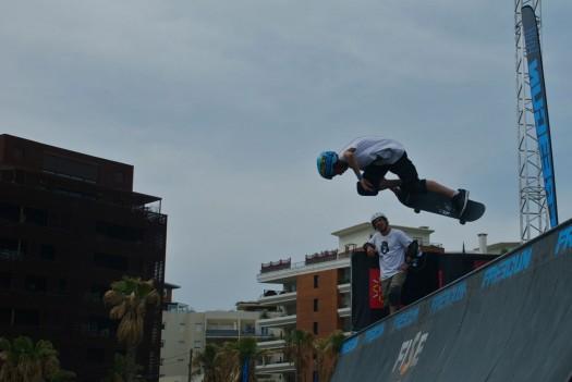 Un jeune skater au FISE, Montpellier (17 mai 2012)