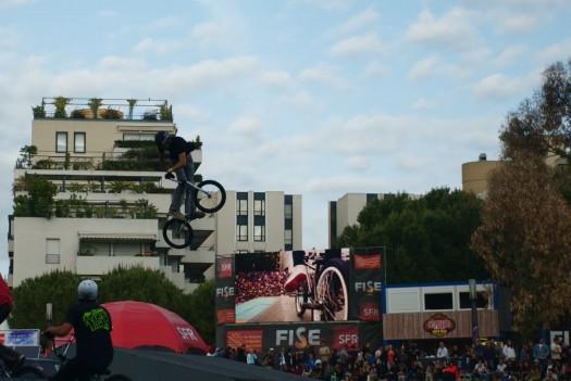 BMX au FISE, Montpellier (18 mai 2012)