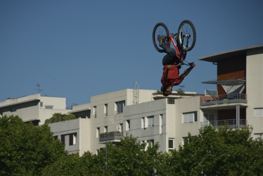 Rider lors du FISE, Montpellier (16 mai 2012)