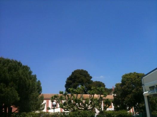 Ciel immaculé, Castelnau-le-Lez (25 mai 2012)