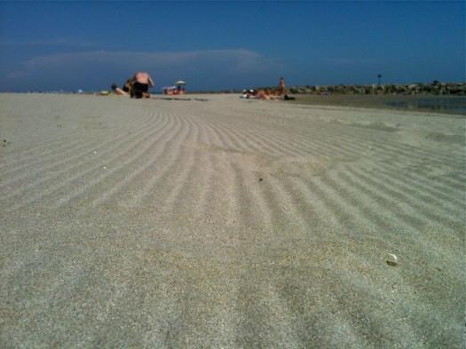 Lignes de sable, Carnon (24 mai 2012)