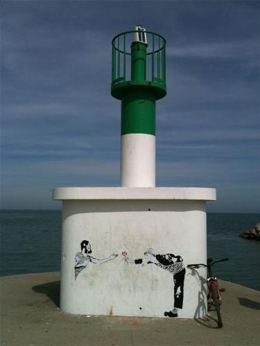 Street Art par AL, Palavas-les-Flots (10 mai 2012)