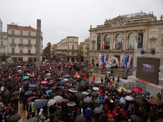 Place de la Comédie, Montpellier (21 mai 2012)