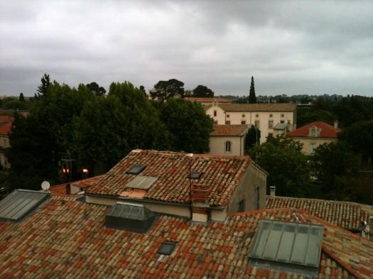 Les toits. Quartier des Beaux Arts, Montpellier (4 mai 2012)