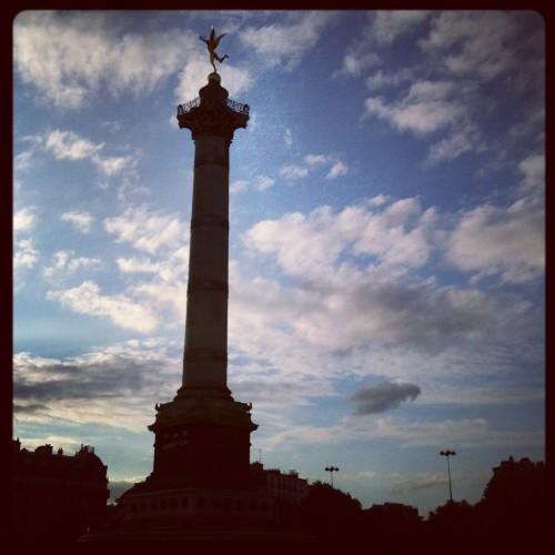 Place de la Bastille, Paris (3 juin 2012)