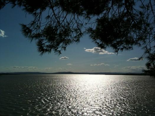 L'étang de Perols, Carnon (15 juillet 2012)
