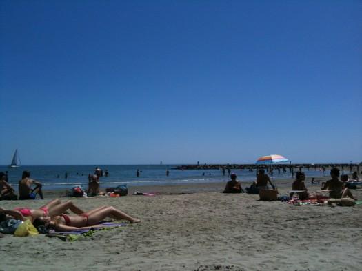 Plage de Carnon (17 juillet 2012)