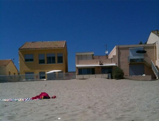 Sur le sable, Carnon (11 juillet 2012)