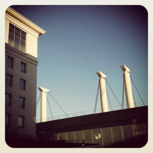 La piscine olympique, Montpellier (16 juillet 2012)