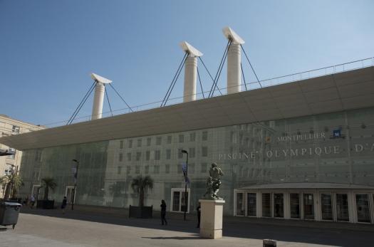 Piscine Olympique d'Antigone, Montpellier (8 septembre 2012)