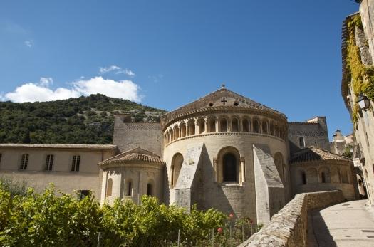 Basilique de St-Guilhem-le-Desert (19 septembre 2012)