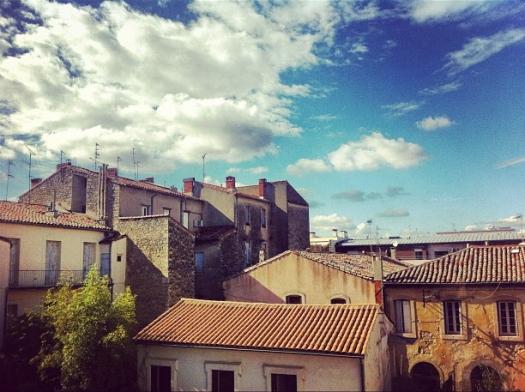 Sur les toits, Montpellier (30 septembre 2012)