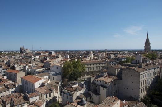Vue sur les toits de Montpellier (15 septembre 2012)