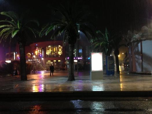 Déluge à Odysseum, Montpellier (9 novembre 2012)