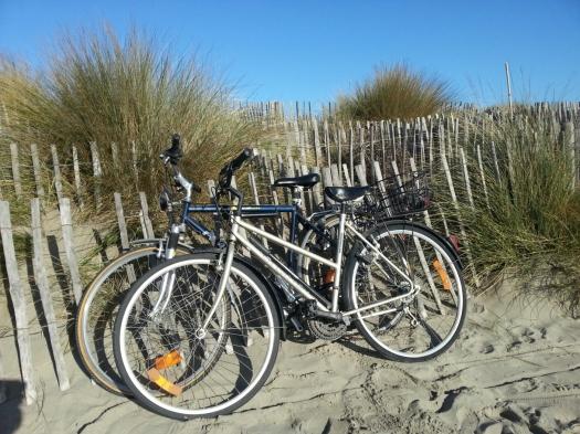 A bicyclette, Carnon (29 décembre 2012)
