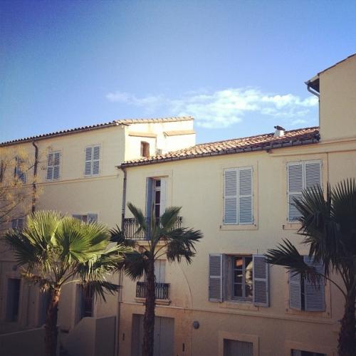Un beau ciel bleu, Montpellier (15 janvier 2012)
