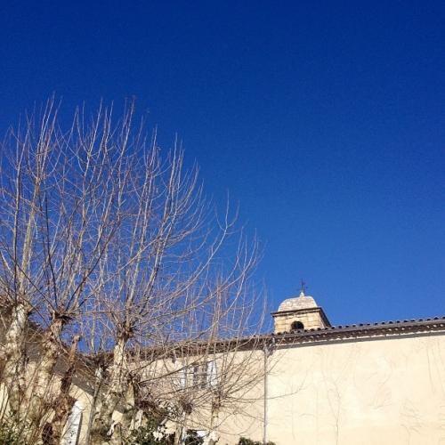 Le ciel bleu, Montpellier (13 février 2013)