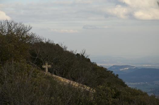 La chapelle du Pic St Loup, Cazevieille (17 février 2013)