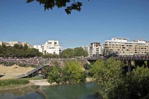 Les spectateurs du FISE, Montpellier (10 mai 2013)