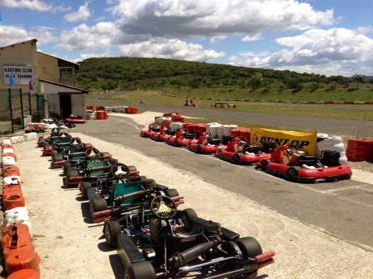 Karting, Brissac (25 mai 2013)