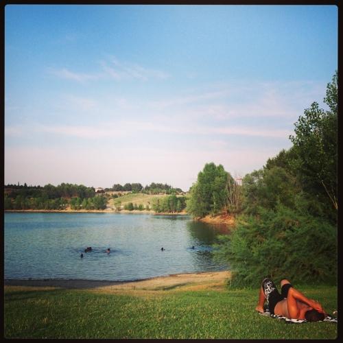 Lac du Crès, Le Crès (22 juillet 2013)