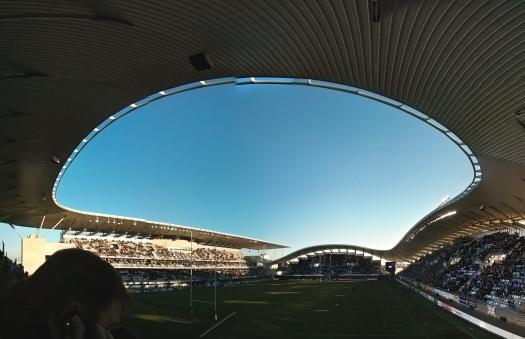 Stade Yves-du-Manoir, Montpellier (15 décembre 2013)