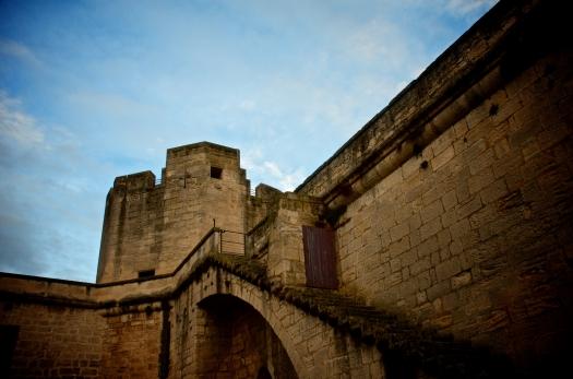 Les remparts d'Aigues-Mortes (18 janvier 2014)