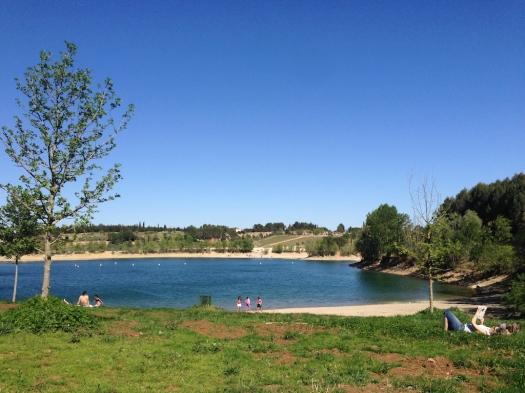 Lac du Crès (15 avril 2014)