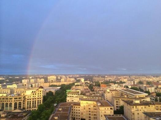 Arc-en-ciel par Ukredfish, Montpellier (23 mai 2014)