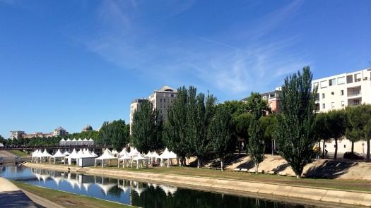 Les chapiteaux du FISE, Montpellier (24 mai 2014)