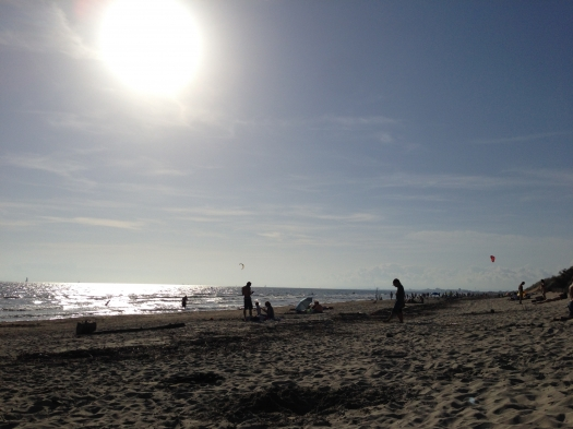Plage du Grand Travers, La Grande Motte (19 octobre 2014)