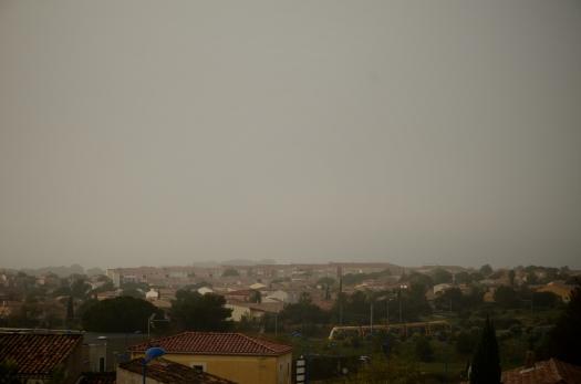 Un brouillard persistant, Le Crès (27 novembre 2014)